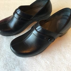 Dansko Black Clogs Size 39